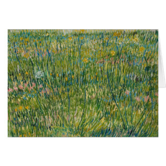 Vincent van Gogh - Patch of Grass Card