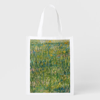 Vincent van Gogh , Patch of grass Colorful