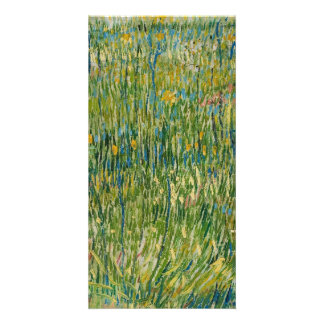 Vincent van Gogh - Patch of grass Picture Card