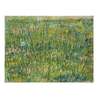 Vincent van Gogh - Patch of grass Photo Print