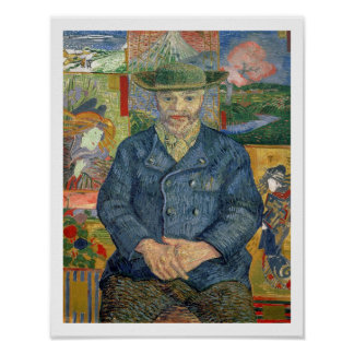 Vincent van Gogh | Pere Tanguy (Father Tanguy) Poster