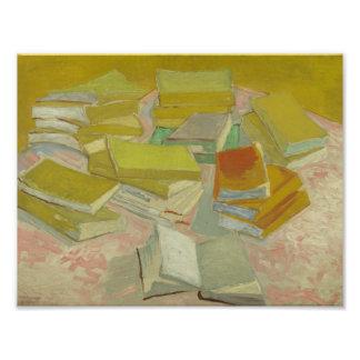 Vincent van Gogh - Piles of French Novels Photo Print