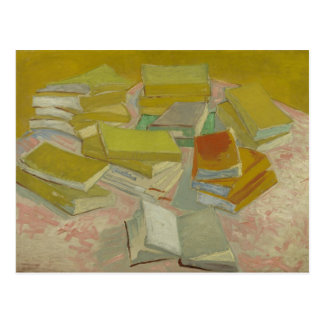 Vincent van Gogh - Piles of French novels Postcard
