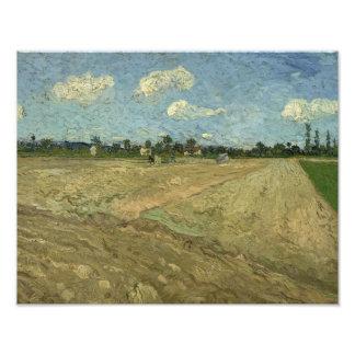 Vincent van Gogh - Ploughed Fields Photograph