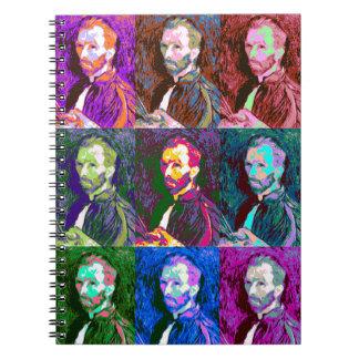 Vincent van Gogh Pop Art Notebooks