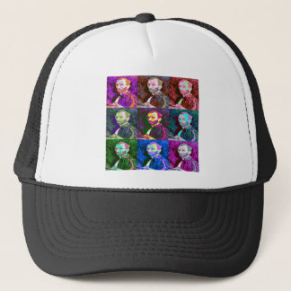 Vincent van Gogh Pop Art Trucker Hat