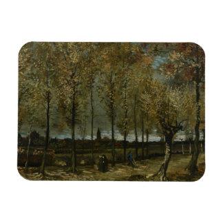Vincent van Gogh - Poplars near Nuenen Rectangular Photo Magnet