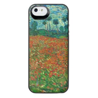 Vincent Van Gogh Poppy Field Floral Vintage Art iPhone SE/5/5s Battery Case