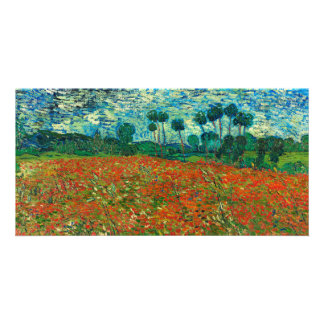 Vincent Van Gogh Poppy Field Floral Vintage Art Photo Cards