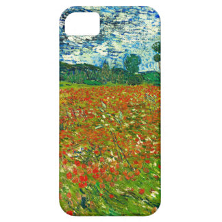 Vincent Van Gogh Poppy Field iPhone 5 Cover