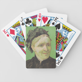 Vincent Van Gogh Portrait of Artist's Mother Art Bicycle Playing Cards