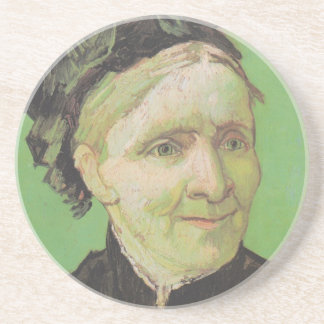 Vincent Van Gogh Portrait of Artist's Mother Art Coaster
