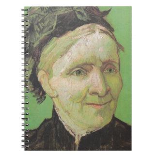 Vincent Van Gogh Portrait of Artist's Mother Art Notebook