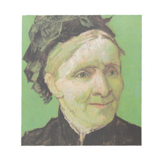 Vincent Van Gogh Portrait of Artist's Mother Art Notepad