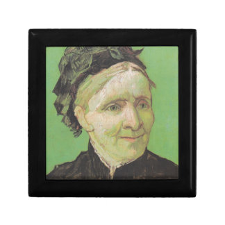 Vincent Van Gogh Portrait of Artist's Mother Art Small Square Gift Box