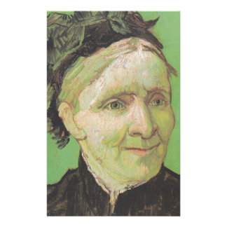 Vincent Van Gogh Portrait of Artist's Mother Art Stationery