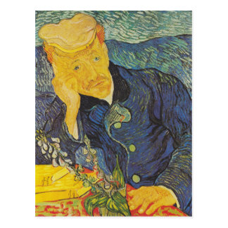 Vincent Van Gogh - Portrait of Dr. Gachet Postcard