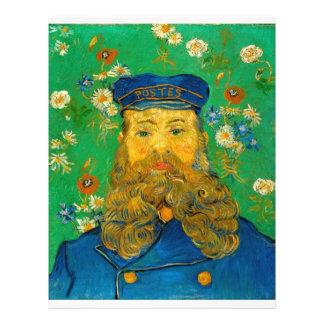 Vincent van Gogh - Portrait of Joseph Roulin Flyer