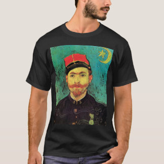 Vincent Van Gogh - Portrait Of Milliet - Fine Art T-Shirt