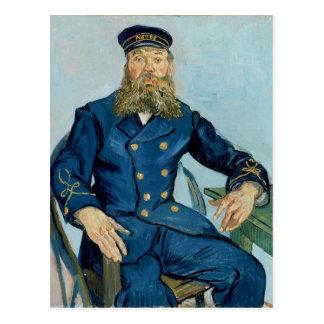 Vincent Van Gogh Portrait of Postman Joseph Roulin Postcard