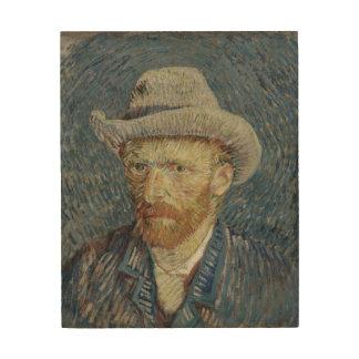 Vincent Van Gogh Portrait Wood Wall Art wood canva Wood Canvas