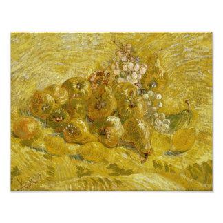 Vincent van Gogh - Quinces, Lemons, Pears Photo
