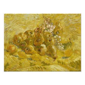 Vincent van Gogh - Quinces, Lemons, Pears Photographic Print