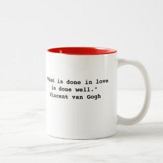 Vincent van Gogh Quote Mug