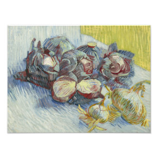 Vincent van Gogh - Red Cabbages and Onions Photographic Print