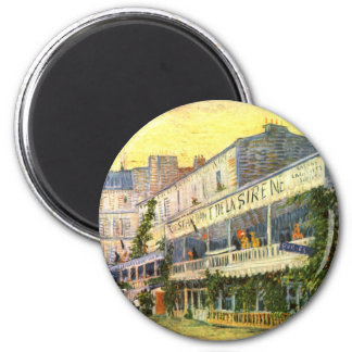 Vincent Van Gogh Restaurant de La Sirene Fridge Magnet