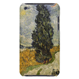 Vincent van Gogh   Road with Cypresses, 1890 Case-Mate iPod Touch Case