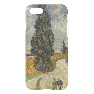 Vincent van Gogh | Road with Cypresses, 1890 iPhone 8/7 Case