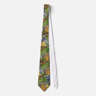Vincent Van Gogh Roots and Tree Trunks Tie