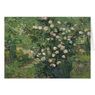 Vincent van Gogh - Roses Card