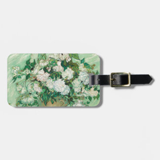 Vincent van Gogh Roses Luggage Tag