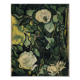 Vincent Van Gogh Roses Poster