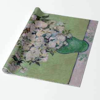Vincent van Gogh Roses Wrapping Paper