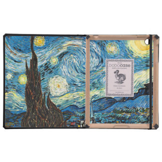 Vincent Van Gogh's Starry Night Case For iPad