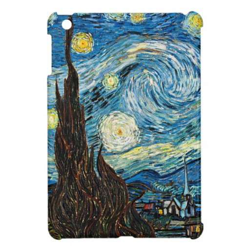 Vincent Van Gogh's Starry Night Cover For The iPad Mini