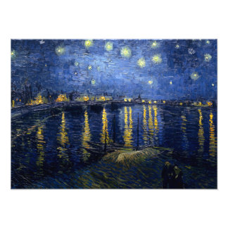 Vincent van Gogh s Starry Night Over the Rhone Photograph