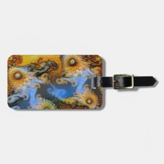 Vincent Van Gogh Seahorse Valley Mandelbrot Zoom Luggage Tag
