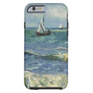 Vincent Van Gogh Seascape at Saintes Maries Tough iPhone 6 Case