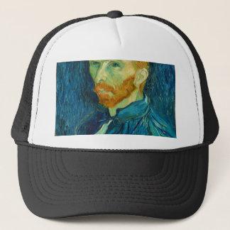 Vincent van Gogh Self Portrait 1889 Painting Trucker Hat
