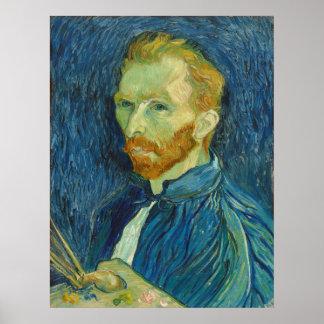Vincent van Gogh: Self Portrait, 1889 Poster