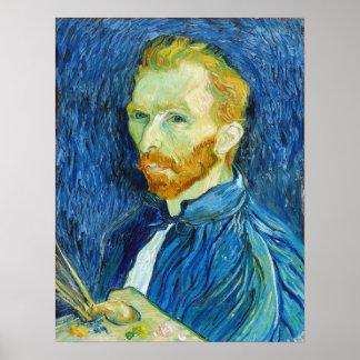 Vincent van Gogh: Self Portrait (August 1889) Posters