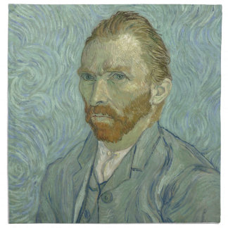 Vincent Van Gogh Self Portrait Classic Art work Napkin