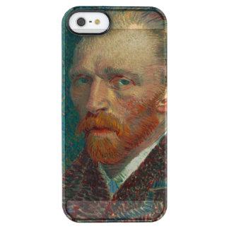Vincent Van Gogh Self-Portrait Clear iPhone SE/5/5s Case