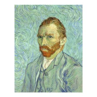 Vincent Van Gogh Self Portrait Fine Art Painting 21.5 Cm X 28 Cm Flyer