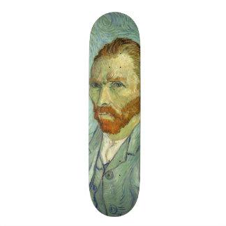 Vincent Van Gogh Self Portrait Fine Art Painting Skateboard