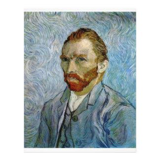 Vincent Van Gogh Self Portrait Full Color Flyer